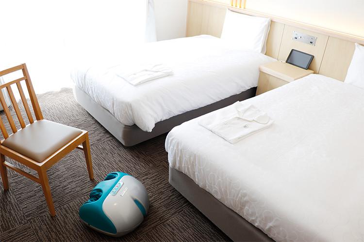 変なホテル京都 八条口駅前 ファイテンルーム